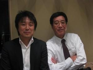 藤田さんとともに